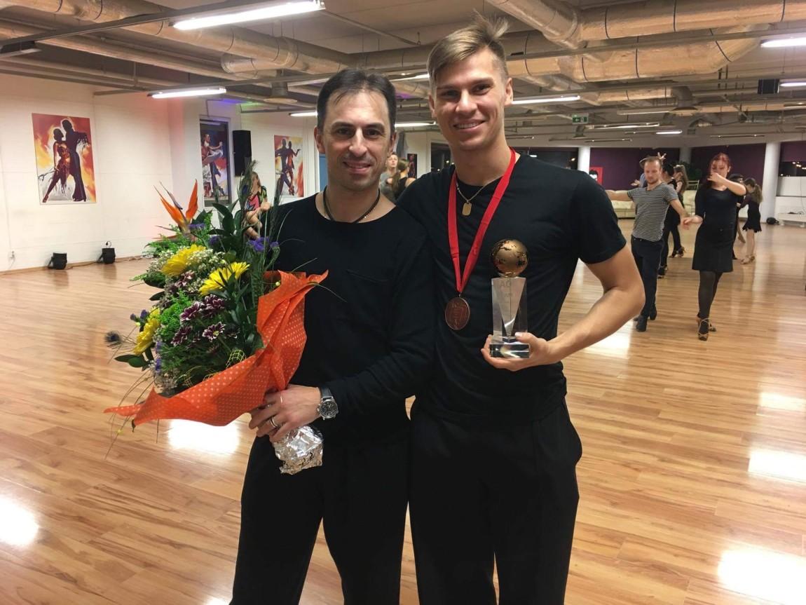 Наша пара Константин Городилов и Доминика Бергманнова стали 3-ми в мире!