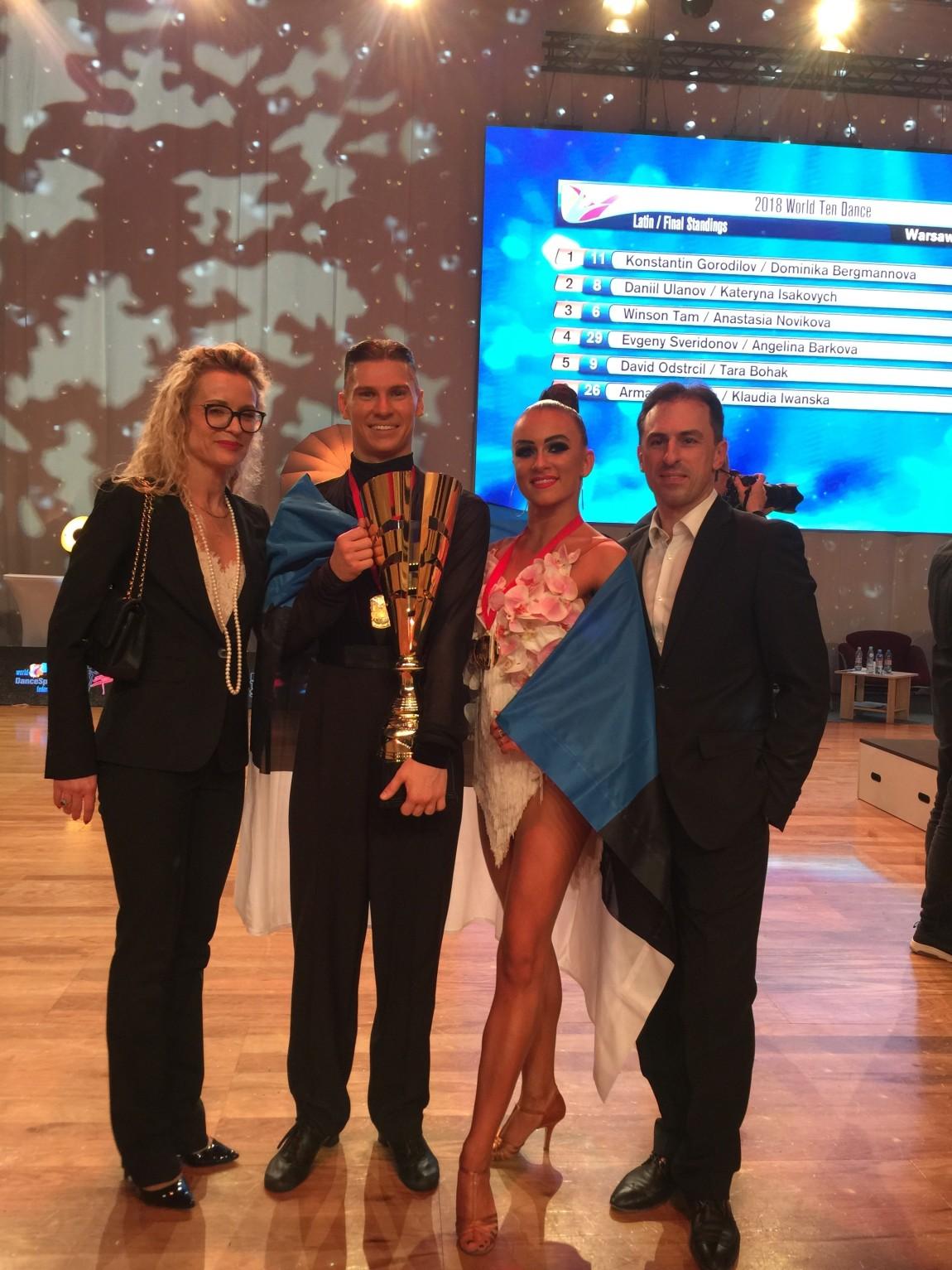Konstantin Gorodilov ja Dominika Bergmannova are 10-dance World Champions!