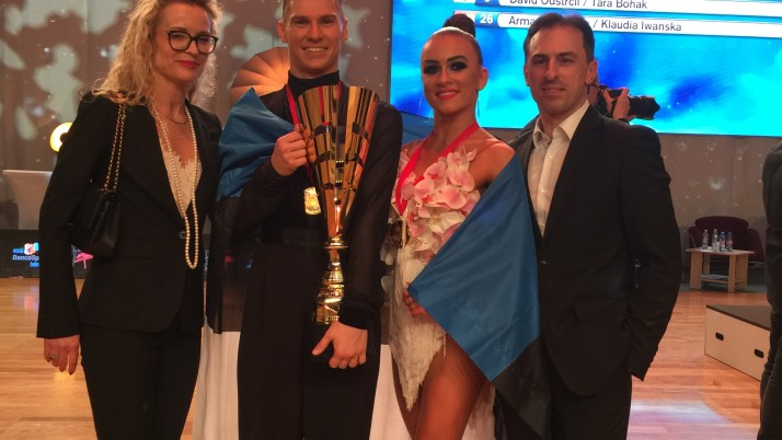 Konstantin Gorodilov ja Dominika Bergmannova are 10-dance World Champions!